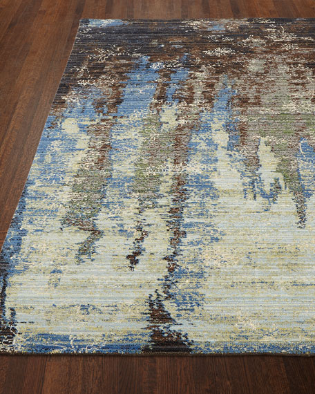 "Moody Blues Rug, 7'9"" x 9'9"""