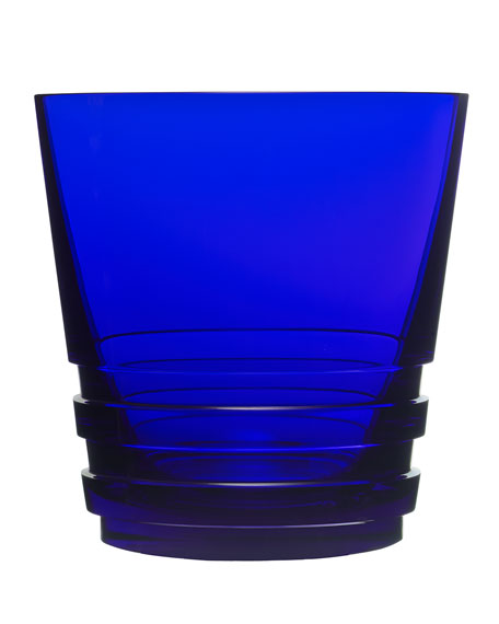 Large Oxymore Double Old-Fashioned, Dark Blue
