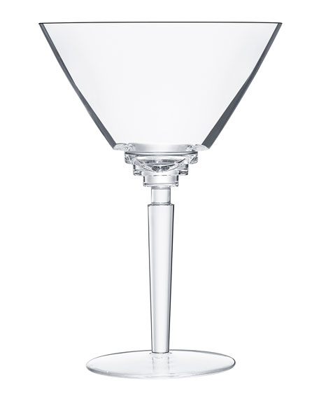 Saint Louis Crystal Oxymore Cocktail Glass, Clear