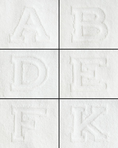 Auberge Monogrammed Bath Towel
