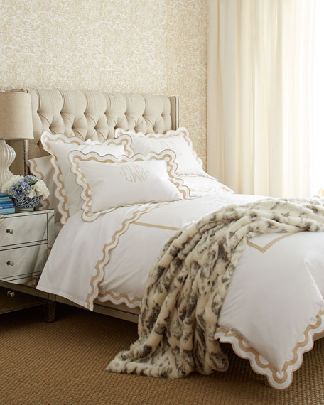 King Milano 600TC Fitted Sheet