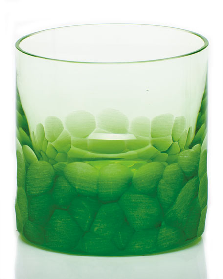 Pebble Single Old-Fashioned, Ocean Green