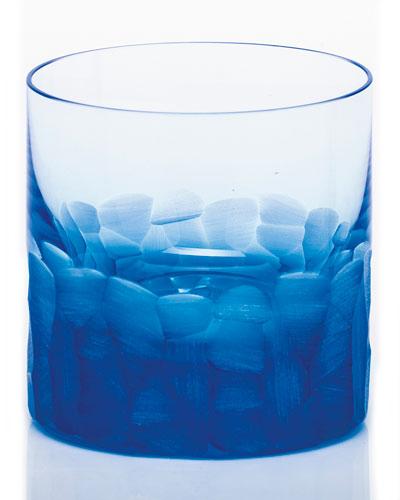 Pebble Single Old-Fashioned, Aquamarine