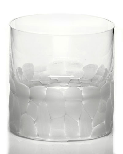 Pebble Single Old-Fashioned  Clear