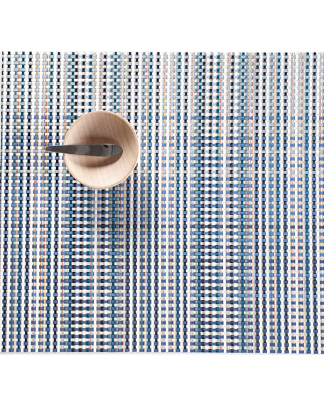 Chilewich Grid Table Mat 14x19