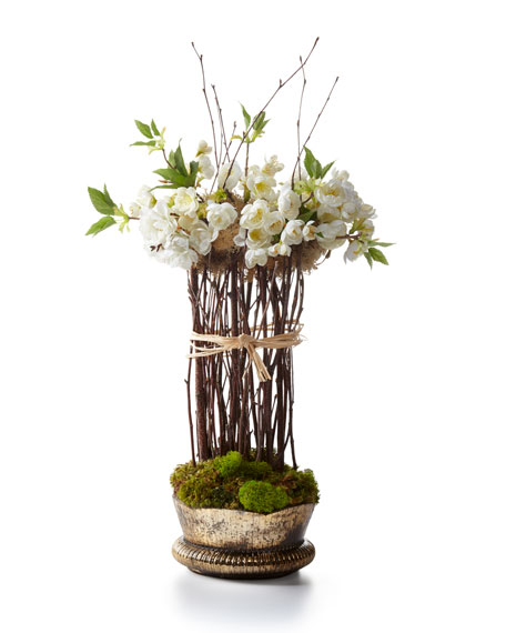 Floating Cherry Blossoms Topiary