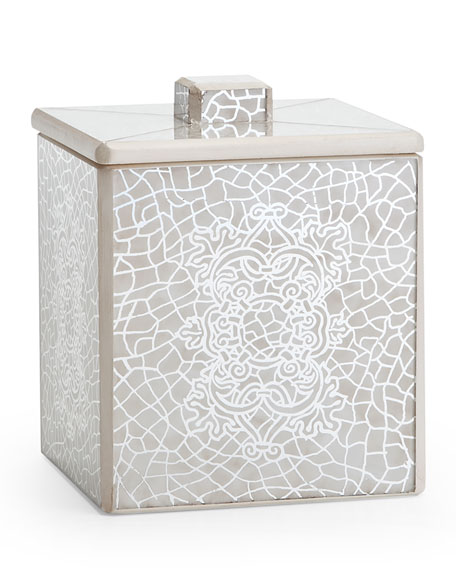 Labrazel Miraflores Ivory Bath Canister