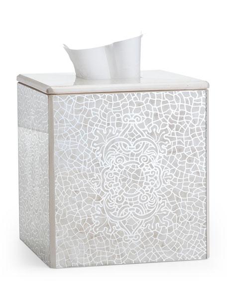 Labrazel Miraflores Ivory Tissue Box Cover