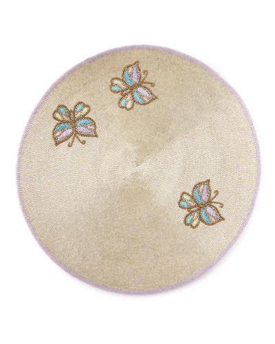 Beaded Butterfly Placemat