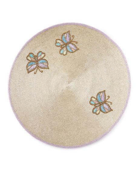 Joanna Buchanan Beaded Butterfly Placemat