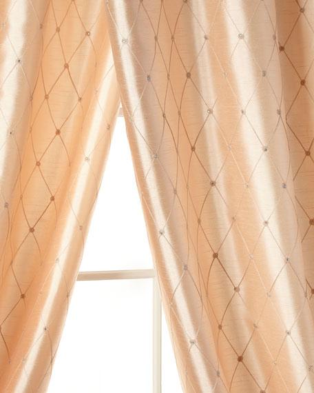 """52""""W x 96""""L Lille Curtain"""