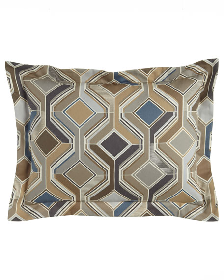 Sweet Dreams Standard Maze Geometric Sham