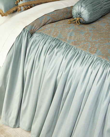 Sweet Dreams King Genevieve Skirted Coverlet