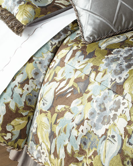 Queen Hydrangea Duvet Cover