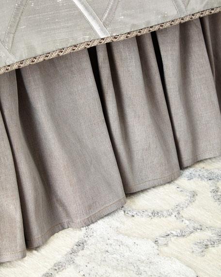 Dian Austin Couture Home Queen/King Hydrangea Dust Skirt