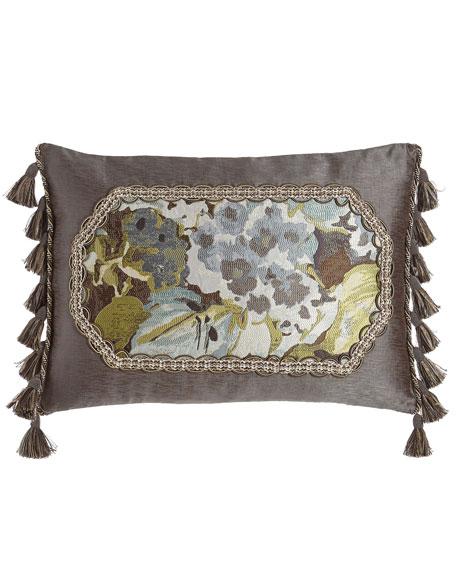 "Hydrangea Pillow, 14"" x 20"""