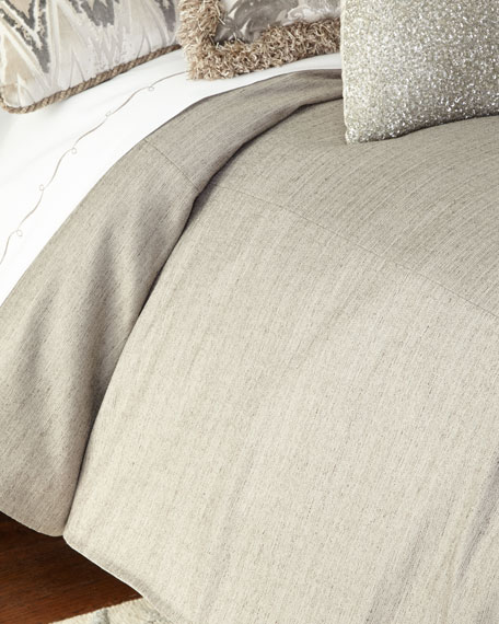 King Ethos Gray Duvet Cover
