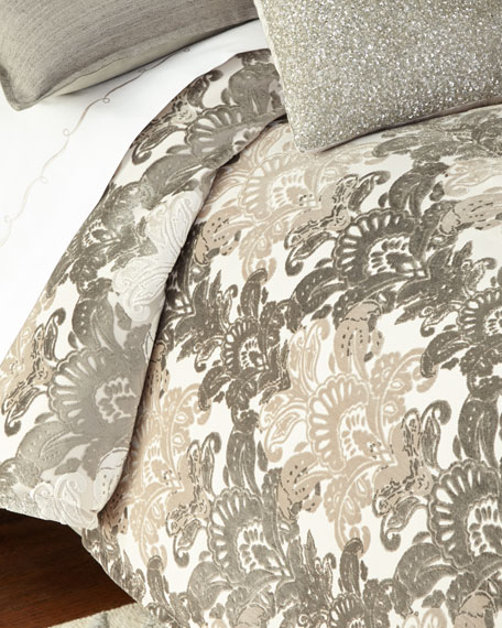 Queen Ethos Damask Duvet Cover