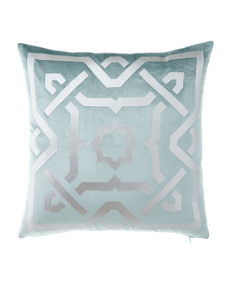 Spa Square Decorative Pillow