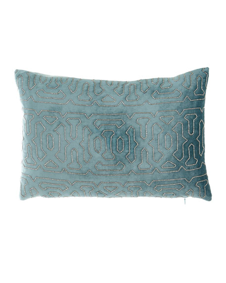 Divine Designs Spa Rectangle Decorative Pillow