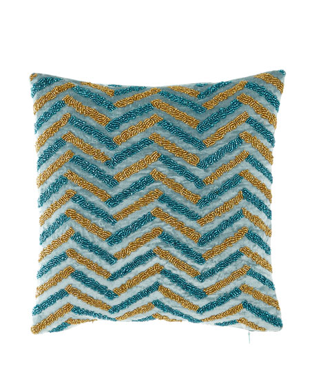 Divine Designs Spa Square Decorative Pillow