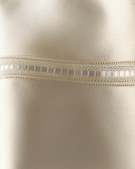 Full/Queen Macrame Lace Duvet Cover