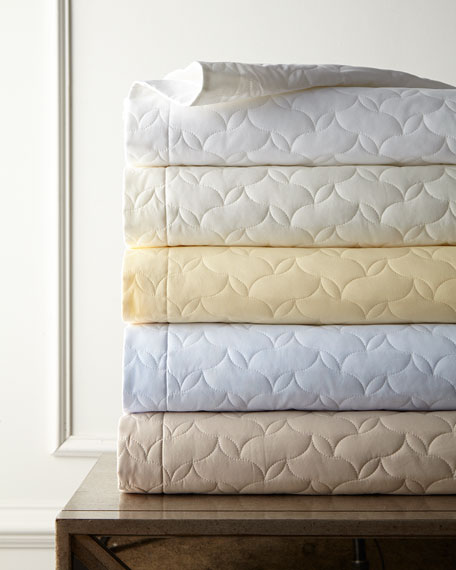SFERRA Embroidered & Quilted Percale Bedding & 406TC