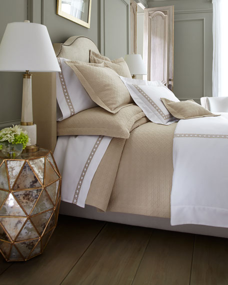 Twin Marcus Collection Cane Matelasse Coverlet