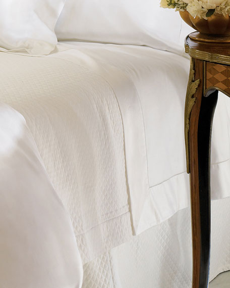 Queen Giza 45 Sateen Fitted Sheet