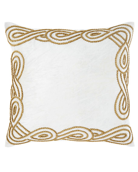 Ancora Square Decorative Pillow