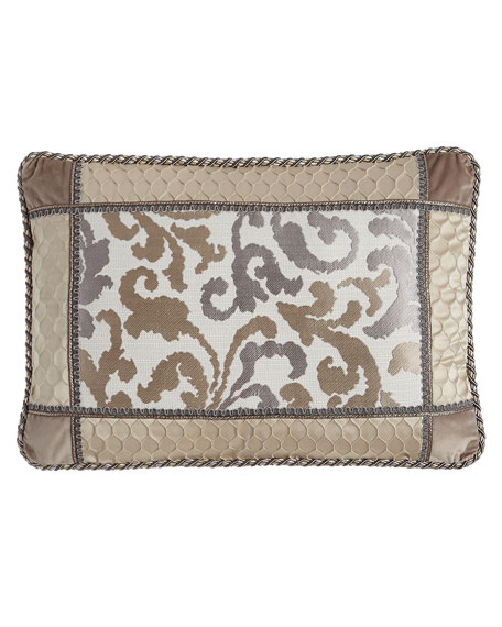 Austin Horn Classics Tranquility Pieced Pillow, 14