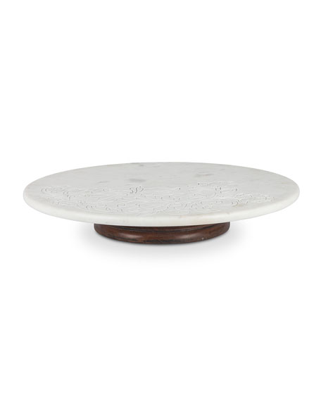 "20"" Marble Lazy Susan"