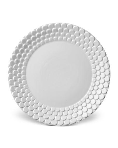 L'Objet Aegean White Dinner Plate