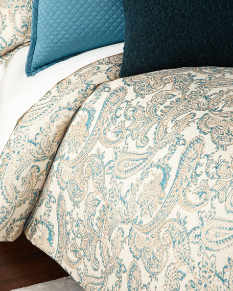 Ann Gish King Arabesque 3-Piece Duvet Cover Set