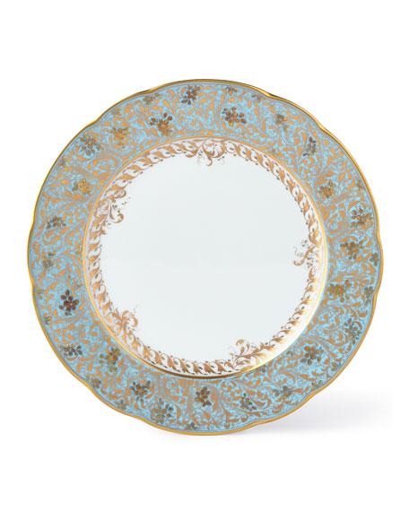 Bernardaud Eden Turquoise Dinner Plate