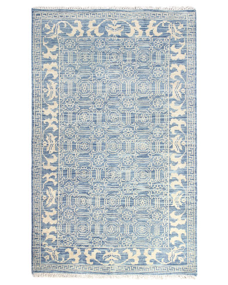 """Rory Hand-Knotted Rug, 5' x 7'6"""""""