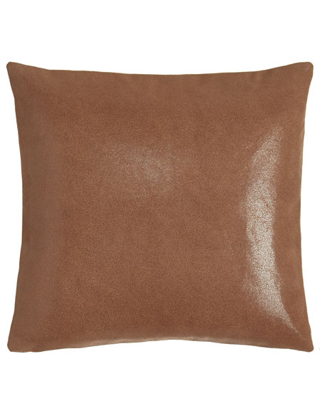 Donna Karan Home Awakening Leather Pillow, 16