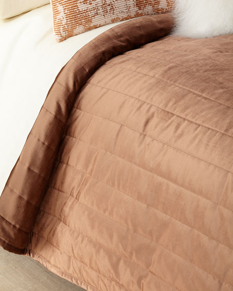 Donna Karan Home Full/Queen Awakening Velvet Quilt