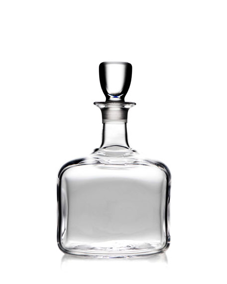 Simon Pearce Woodbury Glass Decanter with Stopper