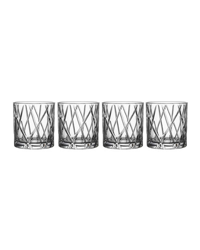 City Double Old-Fashioneds  Set of 4