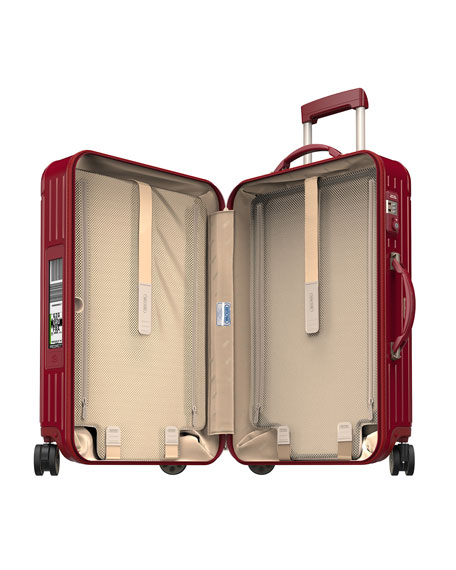 """Salsa Deluxe Electronic Tag Red 26"""" Multiwheel Luggage"""