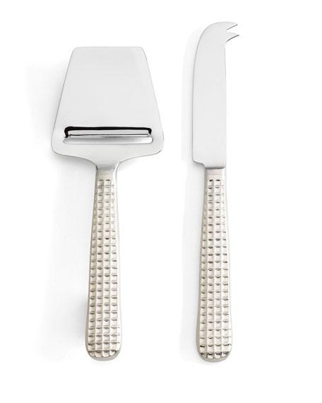 Manhattan Platinum Cheese Shaver & Knife