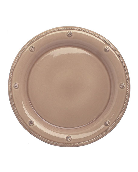 Berry & Thread Mocha Dinner Plate
