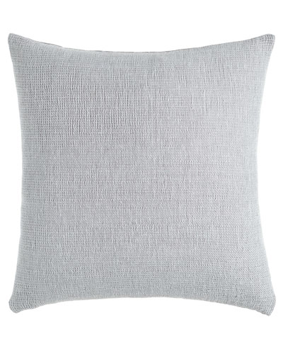 gray doublefaced pillow