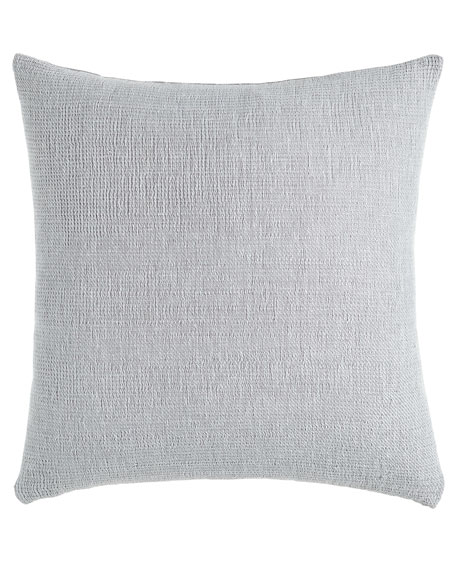 SFERRA Gray Double-Faced Pillow