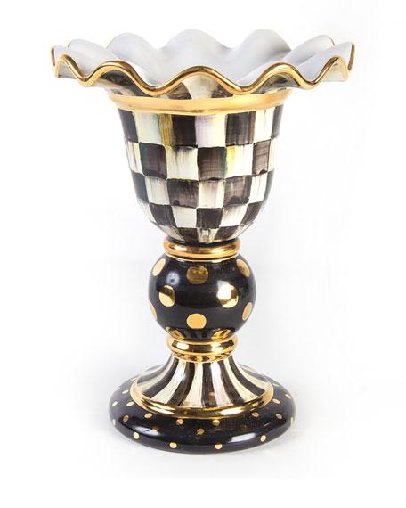 Courtly Check Stately Vase