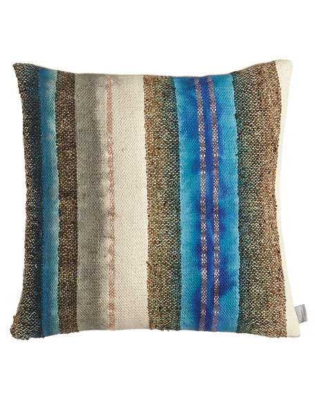 "Wild Silk Pillow, 20""Sq."