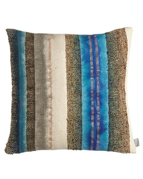 "Wild Silk Pillow, 20""Sq."