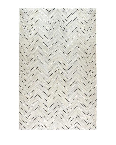 Aquinnah Hairhide Rug, 8' x 11'