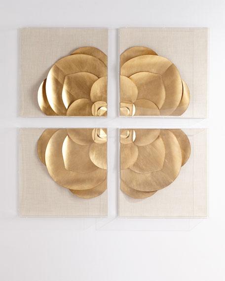 Tommy Mitchell Four-Piece Medallion Installation